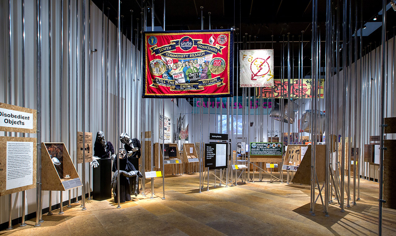 the design kollektiv - Disobedient Objects, V&A, London