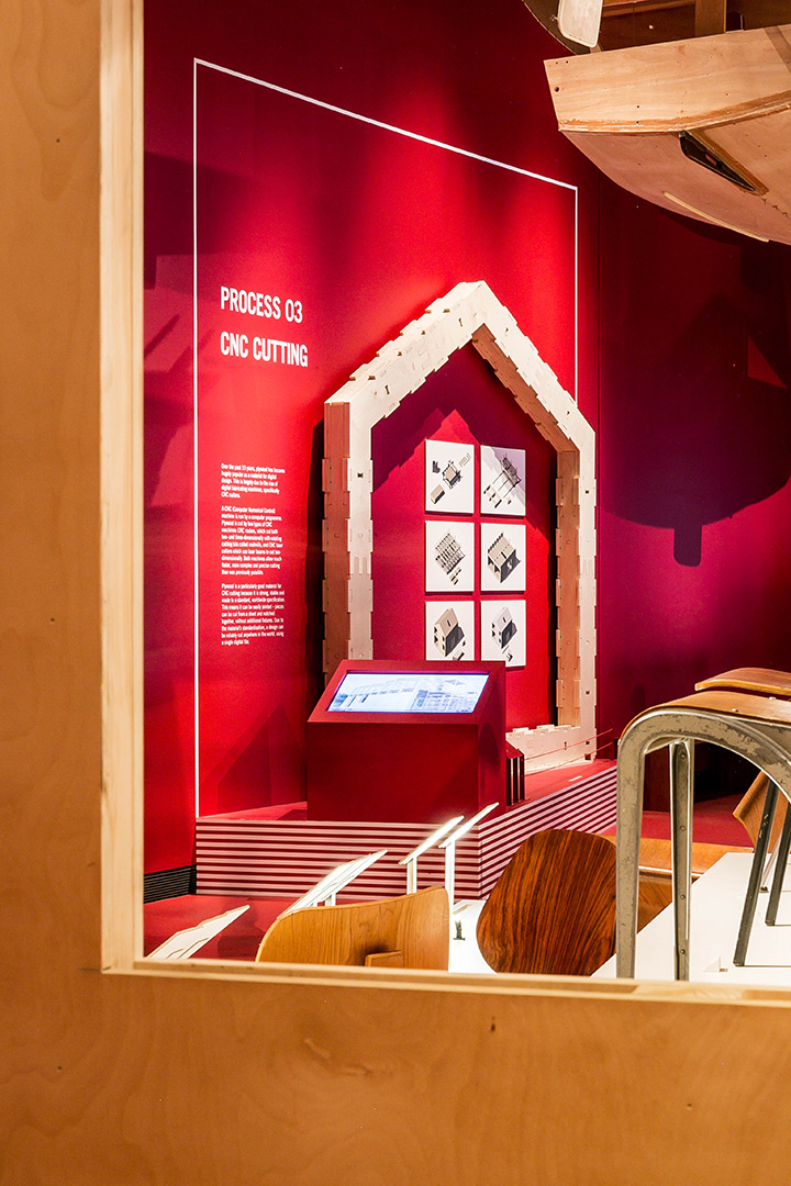 the design kollektiv - Plywood: Material of the Modern World, V&A, London