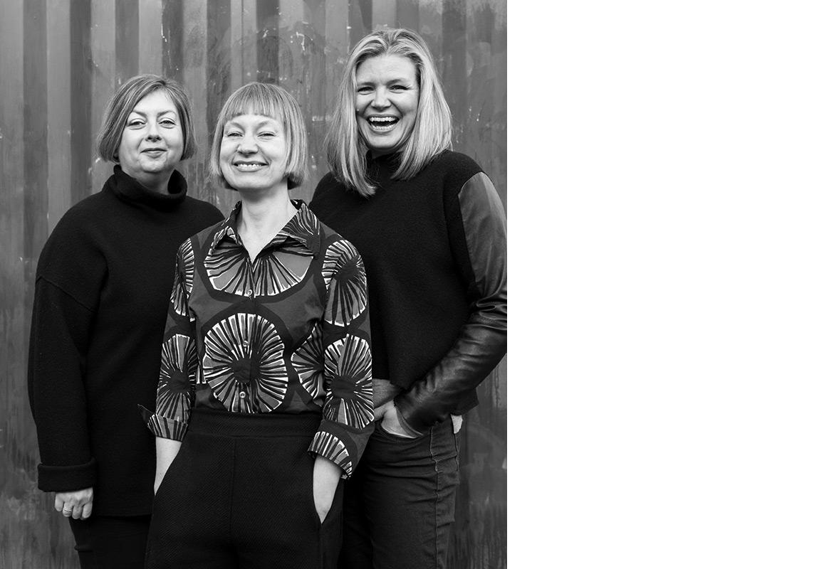 the design kollektiv - Jane Scherbaum, Nadine Fleischer and Line Lund